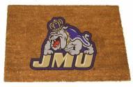 James Madison Dukes Colored Logo Door Mat