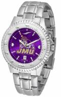 James Madison Dukes Competitor Steel AnoChrome Men's Watch