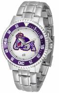 James Madison Dukes Competitor Steel Men's Watch