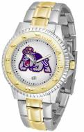 James Madison Dukes Competitor Two-Tone Men's Watch