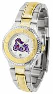 James Madison Dukes Competitor Two-Tone Women's Watch