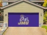 James Madison Dukes Double Garage Door Banner