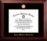 James Madison Dukes Gold Embossed Diploma Frame