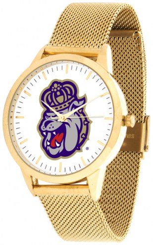 James Madison Dukes Gold Mesh Statement Watch