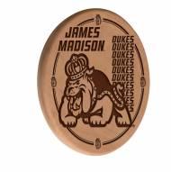 James Madison Dukes Laser Engraved Wood Sign