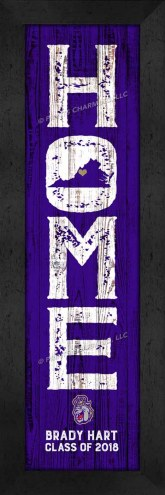 James Madison Dukes Home Away From Home Personalized Wall Decor
