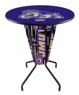 James Madison Dukes Indoor/Outdoor Lighted Pub Table