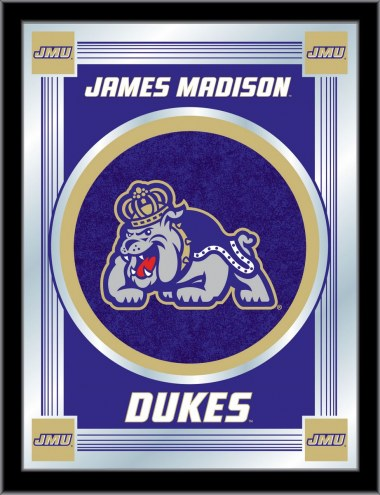 James Madison Dukes Logo Mirror