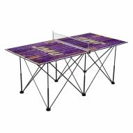 James Madison Dukes Pop Up 6' Ping Pong Table