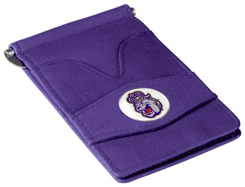 James Madison Dukes Purple Player's Wallet