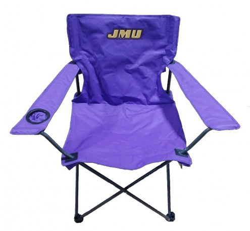 James Madison Dukes Rivalry Folding Chair