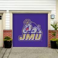 James Madison Dukes Single Garage Door Banner