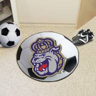 James Madison Dukes Soccer Ball Mat