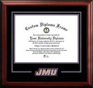 James Madison Dukes Spirit Diploma Frame