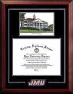 James Madison Dukes Spirit Graduate Diploma Frame
