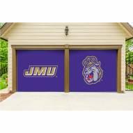 James Madison Dukes Split Garage Door Banner