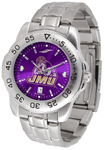 James Madison Dukes Sport Steel AnoChrome Men's Watch
