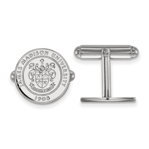 James Madison Dukes Sterling Silver Cuff Links