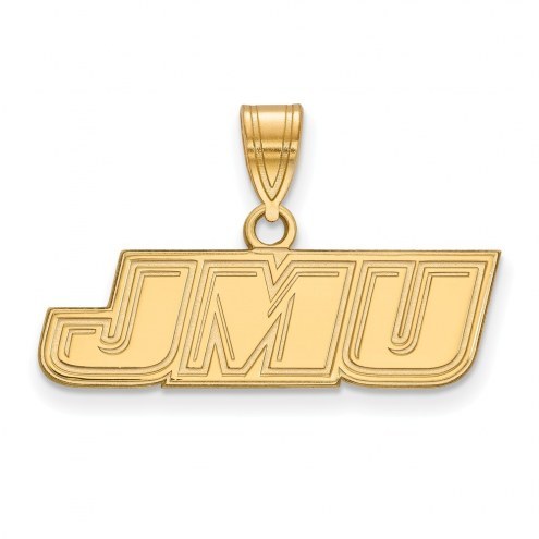 James Madison Dukes Sterling Silver Gold Plated Small Pendant
