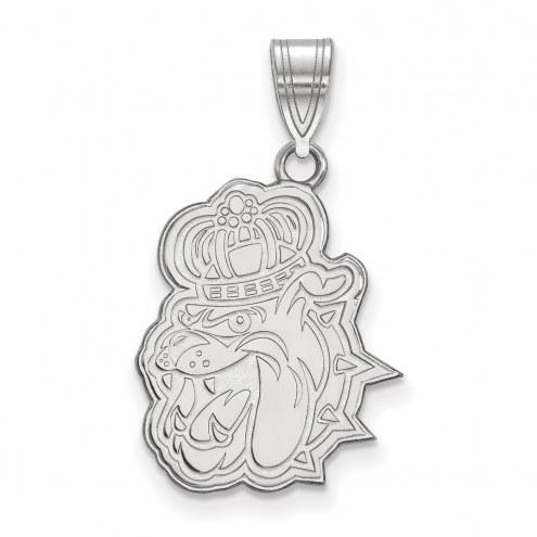 James Madison Dukes Sterling Silver Large Pendant