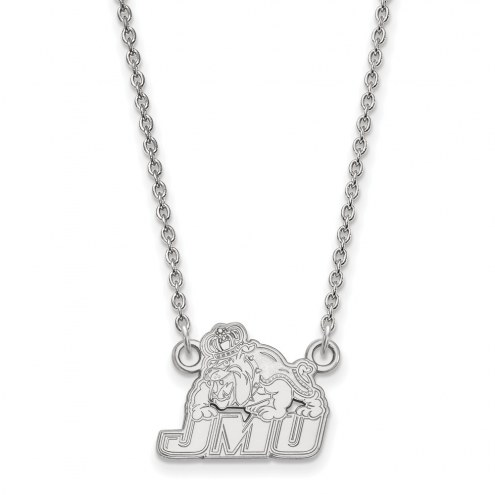 James Madison Dukes Sterling Silver Small Pendant Necklace