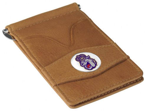 James Madison Dukes Tan Player's Wallet