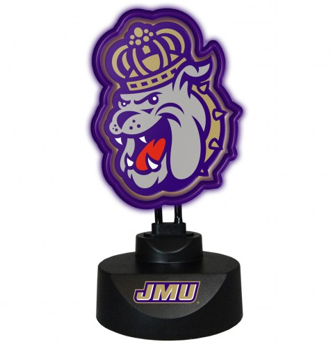 James Madison Dukes Team Logo Neon Lamp