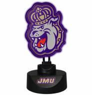 James Madison Dukes Team Logo Neon Lamp