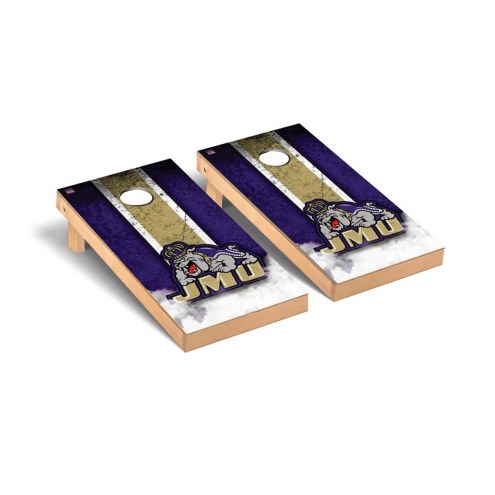 James Madison Dukes Vintage Cornhole Game Set