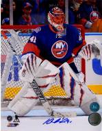 Jaroslav Halak Signed New York Islanders Goalie 8 x 10 Photo
