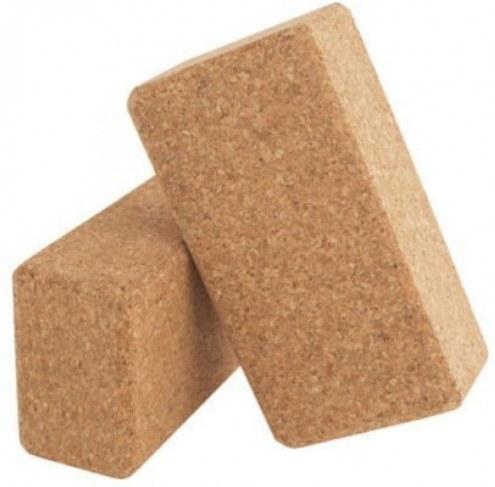 Jasmine Fitness Cork Yoga Block