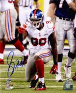 Jason Pierre-Paul Signed Super Bowl XLVI Point 8 x 10