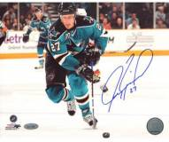 Jeremy Roenick San Jose Sharks Skating Up Ice Horizontal 8 x 10 Photo