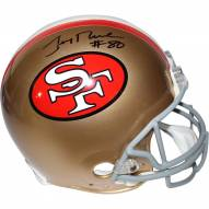 Jerry Rice Signed San Francisco 49ers Authentic Full Size Helmet