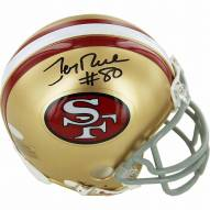 Jerry Rice Signed San Francisco 49ers Mini Helmet