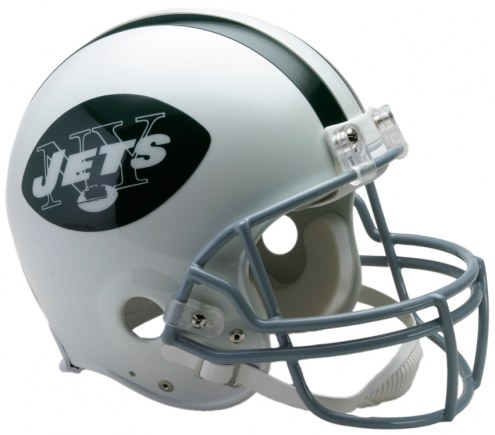 Riddell New York Jets 1965-77 Authentic Throwback NFL Football Helmet - Full Size