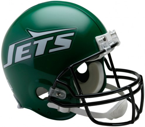 Riddell New York Jets 1990-97 Authentic Throwback NFL Football Helmet - Full Size