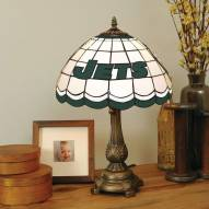New York Jets NFL Stained Glass Table Lamp