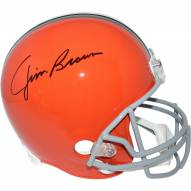Jim Brown Signed Cleveland Browns Riddell Full Size Replica Throwback 62-74 Helmet