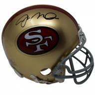 Joe Montana Signed San Francisco 49ers Replica Throwback 64-95 Mini Helmet