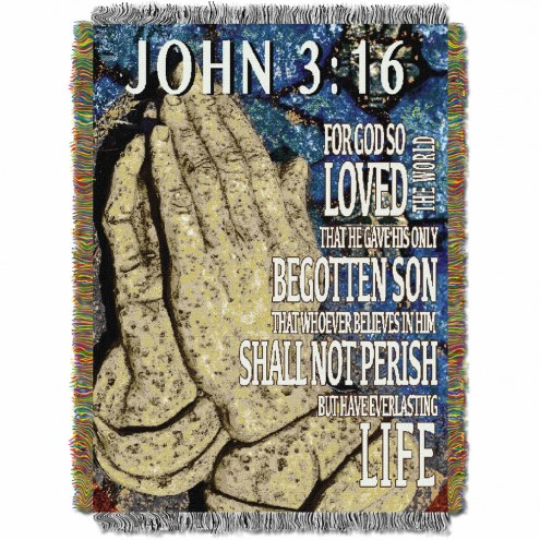 John 3:16 Throw Blanket