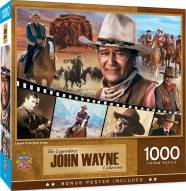 John Wayne Legend of the Silver Screen 1000 Piece Puzzle