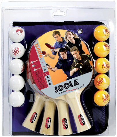 Joola Family 4 Racket Set
