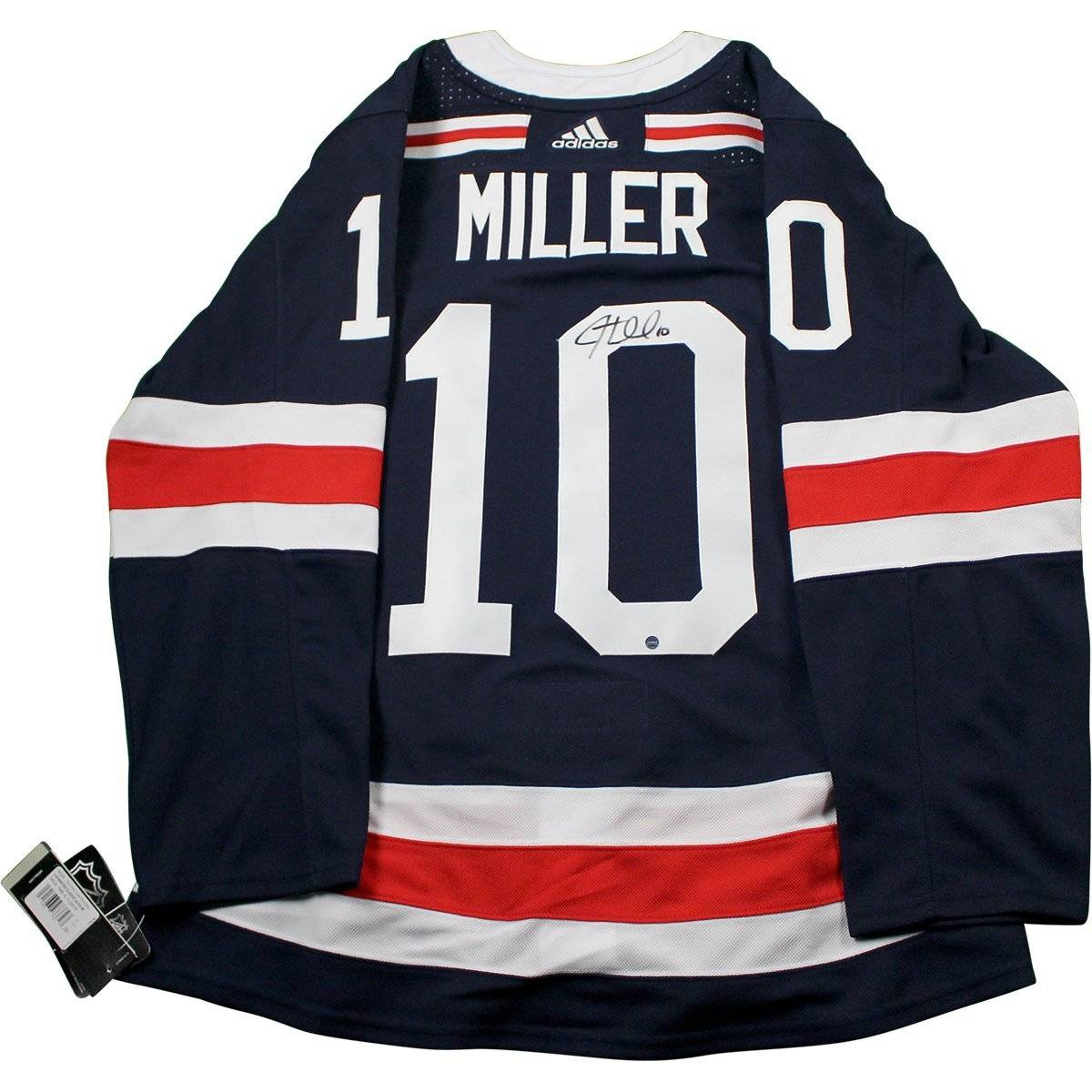 new style a8a63 a3039 JT Miller Signed New York Rangers 2018 NHL Winter Classic Jersey
