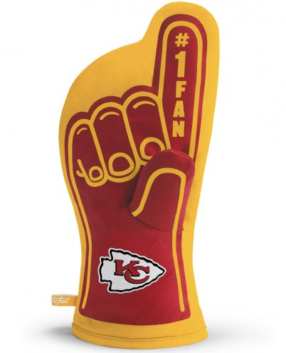 Kansas City Chiefs #1 Fan Oven Mitt