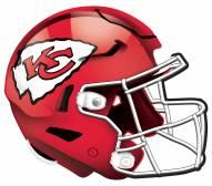 """Kansas City Chiefs 12"""" Helmet Sign"""