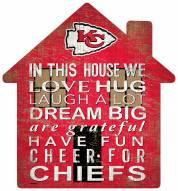 "Kansas City Chiefs 12"" House Sign"