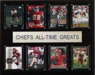 "Kansas City Chiefs 12"" x 15"" All-Time Greats Plaque"