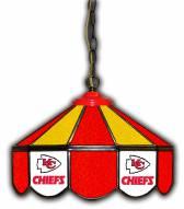 "Kansas City Chiefs 14"" Glass Pub Lamp"