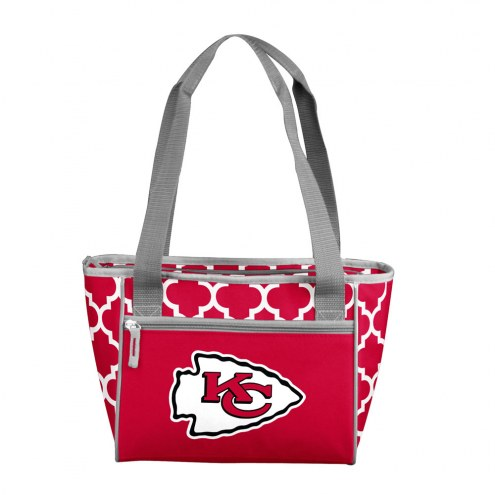 Kansas City Chiefs 16 Can Cooler Tote